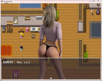 n4z0osf4chal - My Sister Mia Version 0.9a + v0.1 - Ren'Py - Inceton Games [2017]