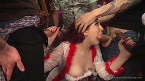 Amber Ivy - Damn Fine Pie! A Twin Peaks Parody Gangbang, mp4, 1019mb, HD, 720p
