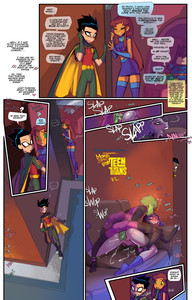 Fred Perry - Barely Eighteen Titans 2 Comic