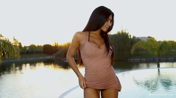 Naara Da Silva Ferreyra - Lakeside Lust, FHD, 1080p