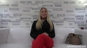 HD Czech Casting Tereza 9584