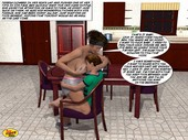 1st Timer Comix - Mom and Son Pool Party 3