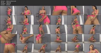 Aletta Ocean - Pink In The Shower, HD, 720p