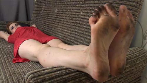 Gloria - dirty foot worship Full HD