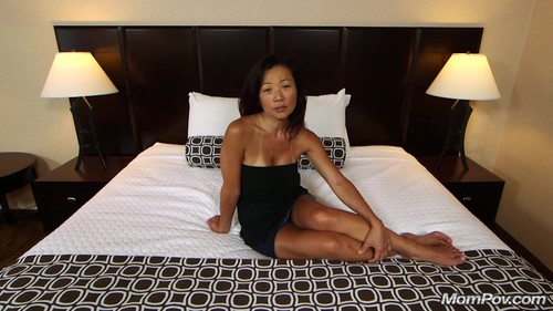 Mompov.com -  Savannah 45 year old fucking sexy Asian MILF
