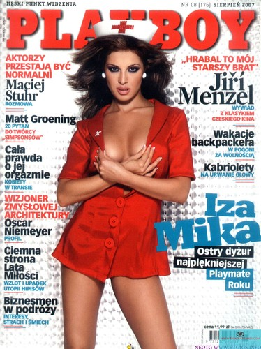 Free download porn magazines: Playboy Poland 2007 №08