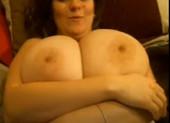 Julia Busty Latin Housewife Home Alone