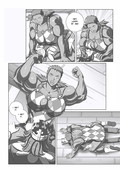 Sexy muscle girl in Bokuman - Miss Monday Big Bet Chapter 1-3