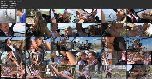 Gina Gerson - Helicopter Sex, HD, 720p