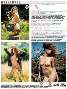 Izabella Wasiniewska - Playboy Nude Girls