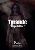 New comic for adults - Firolian - Tyrande Negotiation