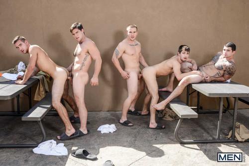 MEN – A Guide To Sex In Prison Part 4 (Adam Bryant, Aspen, Dimitri Kane, Johnny Rapid & Tony Paradise)