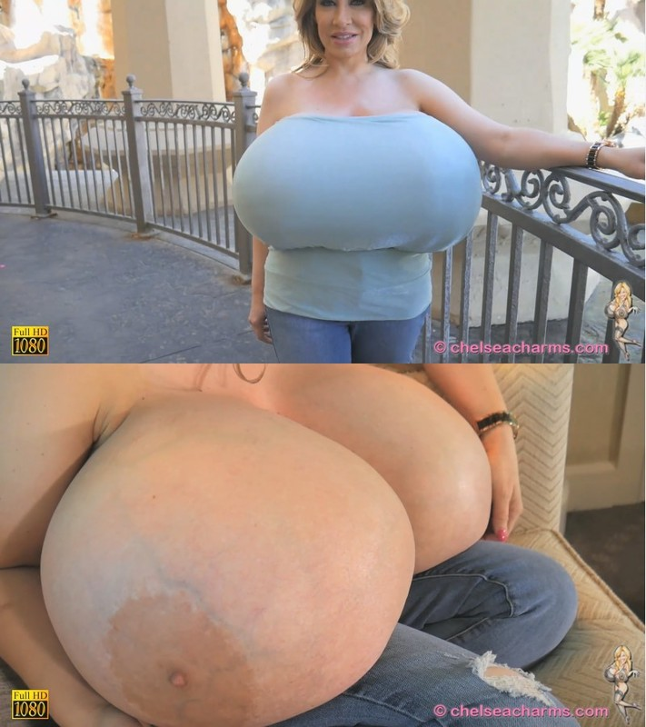 Chelsea Charms - New Member's Video Giant Jugs