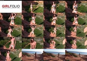 GirlFolio Melissa Tongue Skinny Dip