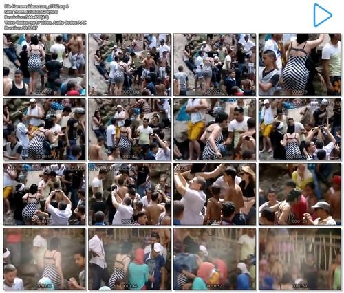 تحرش بشرموطة مصرية بملابس سكسية