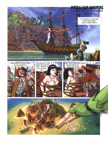 Paco Roca, J. Aguilera - Peter's Last Adventure (Peter Pan)