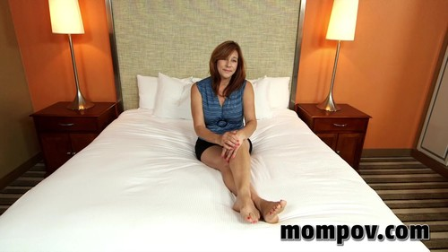 Mompov.com -  Brooke 52 year old gives an amazing blowjob
