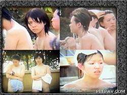 ハイグレードなギャル達を露天風呂で盗撮!