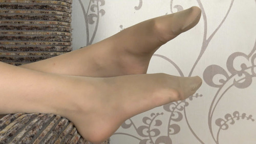 Cathy - pantyhose teasing Full HD