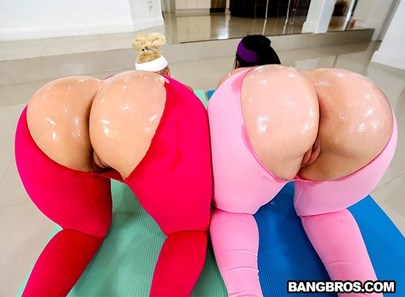 [AssParade.com] Virgo Peridot, Alexis Andrews - Two Huge Booties Are Better Than One