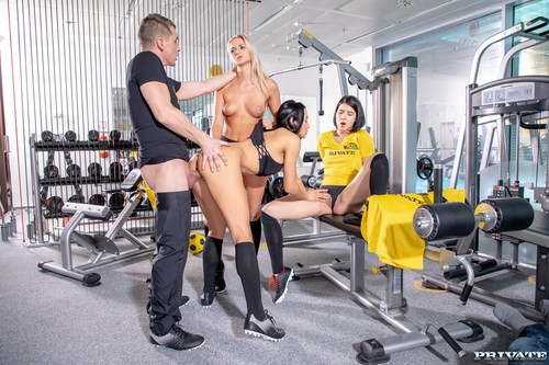 Private - Lady Dee, Anna Rose & Katy Sky Fuck The Trainer