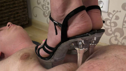 Emily - human rug for my high heels! Full HD