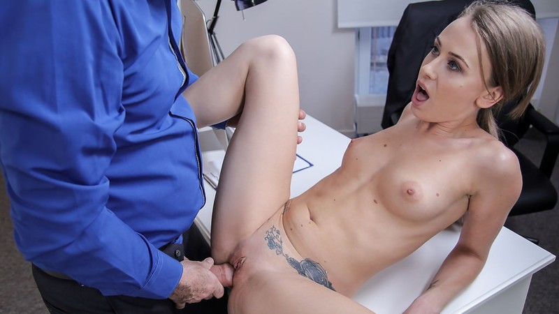 [FakeAgent.com] Carmel Anderson - Office fuck for sexy British model