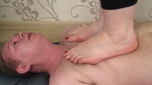 Theodora - barefoot trampling Full HD