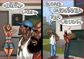 BlacknWhitecomics - Art Class 2 - 9 pages - New interracial sex comic