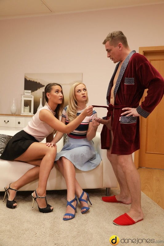 [DaneJones.com] Cristal Caitlin aka Vinna Reed and Naomi Bennet - Hot threesome with European babes