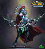 World of Warcraft Sylvanas art