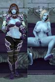 World of Warcraft Sylvanas art