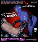 DECAMERON X - THE CHRONICLES OF PLANET STILETTO CHAPTER 1-4