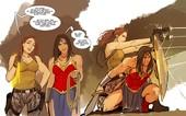 Shiniez - Stjepan Sejic - Lara Croft x Wonder Woman