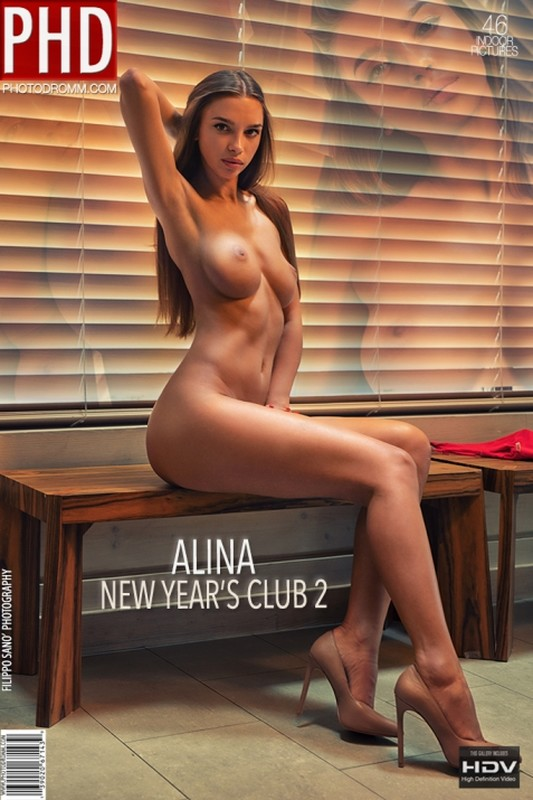 Alina - New Year`s Club 2 - 46 pictures - 3000px (18 Jan, 2019)