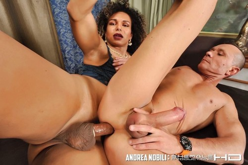 Rebequinha, Curly Tranny, Fuck And Cum!  [SD]