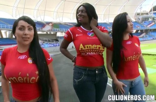 [NalgasGrandes / Culioneros] Karina, Sandra, Celeste (Soccer Sex Party / BAC9882) Sandra, Celeste, Karina - Soccer Sex Party [2012 , latinas, ebony, big ass, big boobs, blowjobl]