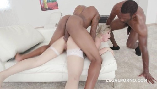 Selvaggia, Yves Morgan, Dylan Brown -  Double Anal Creampie Selvaggia gets 2 BBC with Balls Deep Anal, DAP, Great Gapes GIO739  (2019/HD) LegalPorno