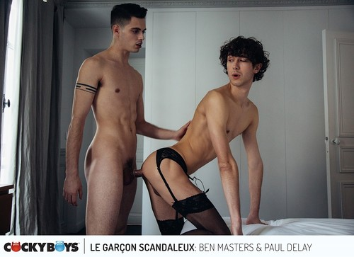 CockyBoys - Le Garcon Scandaleux Part 1: Ben Masters, Carter Dane, Paul Delay & Sean Ford