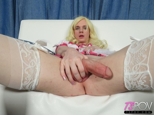 Taylah Zane  - Young Blonde Ts Loves Cock So Much  (2019/HD) TsPov