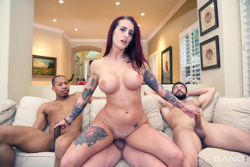 Bang! Trickery - Tana Lea Gets Wagered Away In A Poker Game For Her First-Ever Gangbang!
