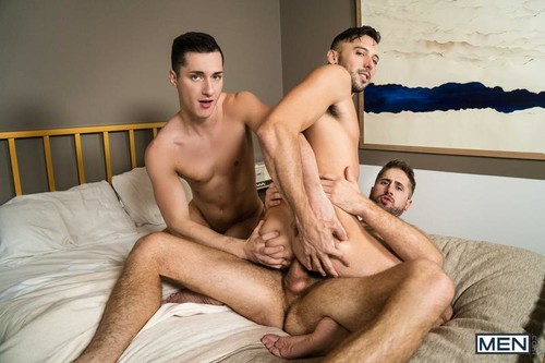 MEN – The Manny Part 2 (Shane Jackson, Tristan Hunter & Wesley Woods) Bareback